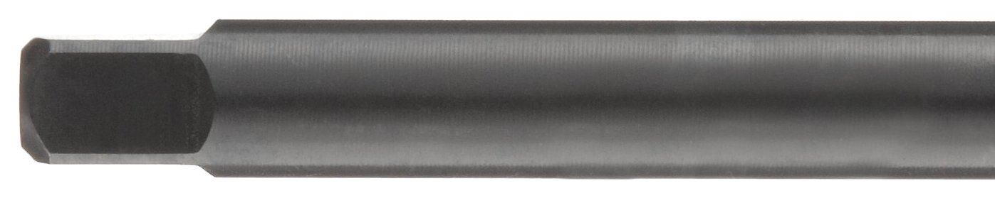 8-32 Thread Size Round Shank with Square End Dormer E651 High-Speed Steel Combined Drill and Tap Black Oxide Finish Modified Bottoming Chamfer