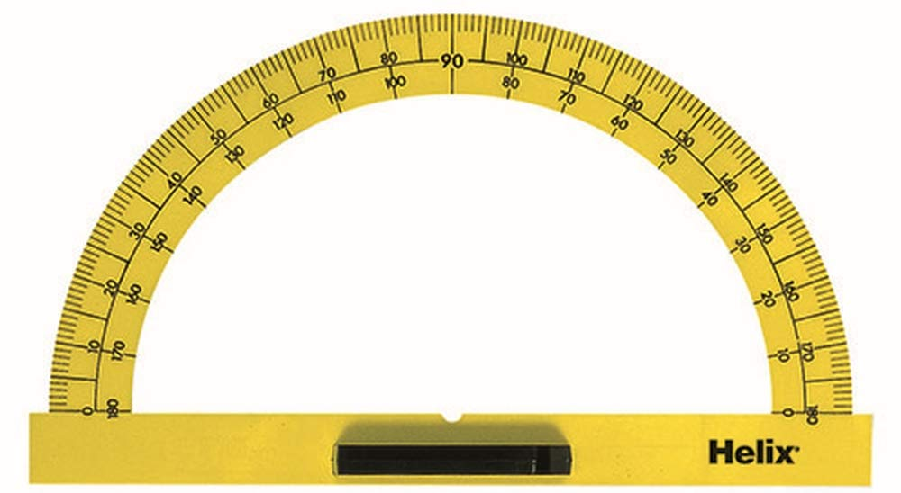 Helix Protractor, Yellow (24034) by Maped Helix USA (Image #1)