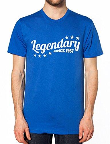 Legendäre seit 1957, T Shirt Gr. X-Large, königsblau