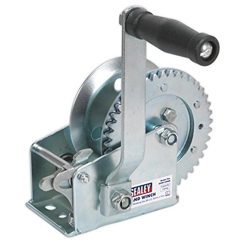 (Sealey Geared Hand Winch 540Kg Capacity GWE1200M)