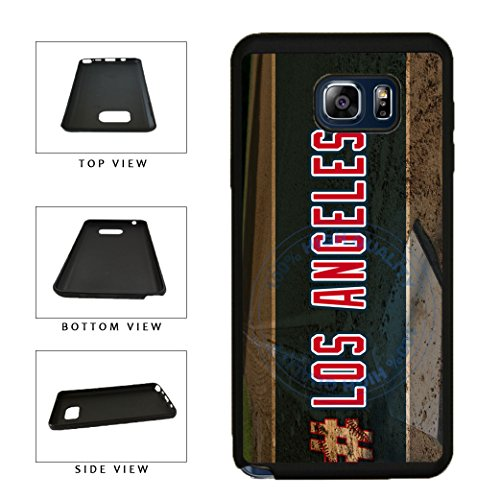 BleuReign(TM) Hashtag Los Angeles #LosAngeles Anaheim Baseball Team TPU RUBBER SILICONE Phone Case Back Cover For Samsung Galaxy S8