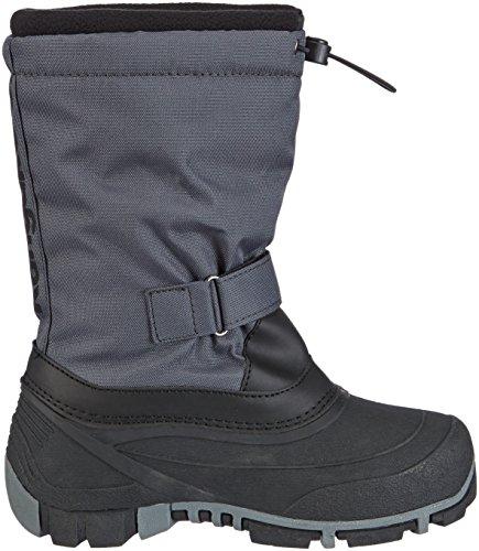 Grau Grey 2007 mixte Kanga KangaROOS Boots 230 Dk Gris enfant Bean 7Sw1S0