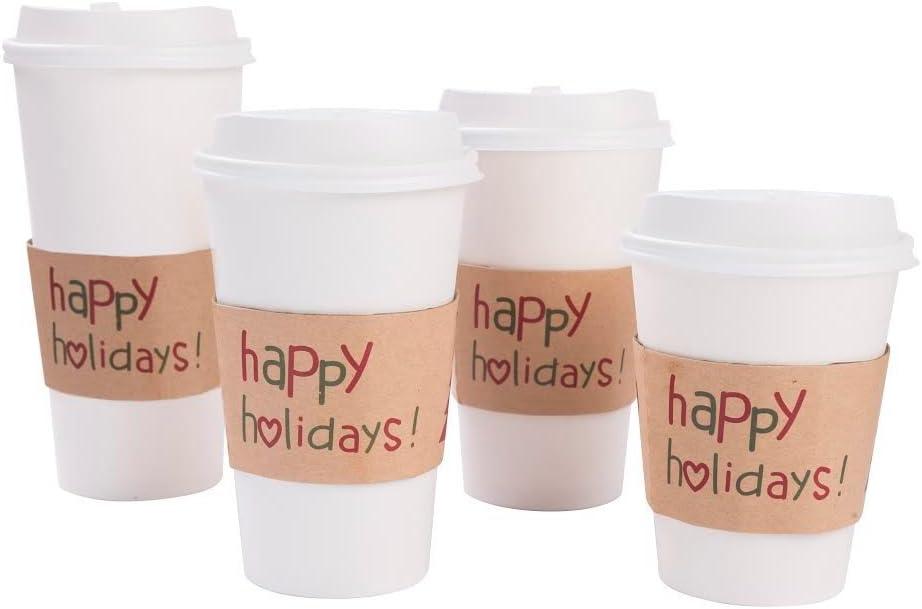 Paper Cups Sleeves | Printed coffee cup sleeve | Apprintable