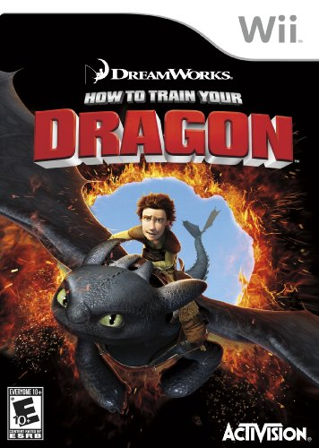 How To Train Your Dragon - Nintendo Wii (Dragon Games For Wii)