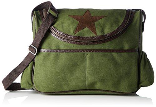 Wickeltasche Tracolla Bags4less grün Borsa Grün canvas A Donna Aqw4wtBx
