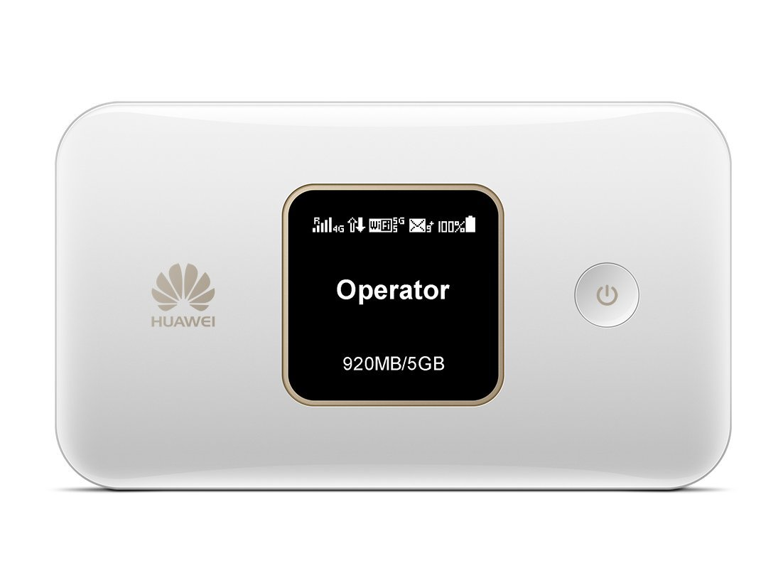 Huawei E5785Lh-22c 300 Mbps 4G LTE Mobile WiFi (4G LTE in Europe, Asia, Middle East, Africa & 3G Globally. 12 hrs Working, Original OEM Item) (White) by HUAWEI