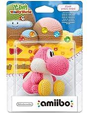 Amiibo 'Yoshi's Wolly World' - Yoshi de laine : rose