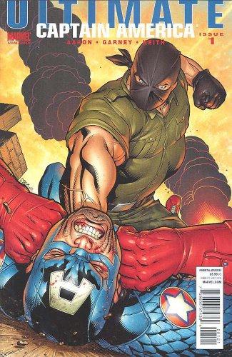 Ultimate Comics Captain America #1 Ed McGuinness Villain Variant Cover