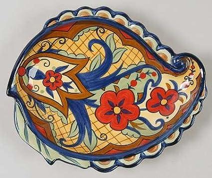 Corsica Home Crown Jewel Sculptured Salad Plate Fine China Dinnerware & Amazon.com | Corsica Home Crown Jewel Sculptured Salad Plate Fine ...