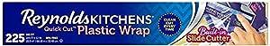 Reynolds Kitchens Quick Cut Plastic Wrap - 225 Sq Ft roll