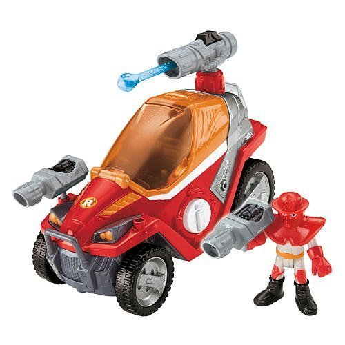 Fisher Price Rescue Heroes - Rip Rockefeller and his Fire...