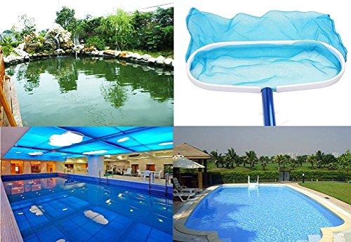 Xj garden heavy duty leaf net skimmer deep bag rake for Deep swimming pools for garden