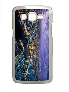 luxury cases london evening city lights PC Transparent case/cover for Samsung Galaxy Grand 2/7106