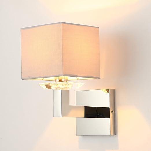 WENJUN Lámpara De Pared LED, Lámpara De Pared De Aluminio De Lujo Stick-on En Cualquier Lugar, Luz De Seguridad Interior para Escalera/Cocina / Baño/Sala De Lavandería/Pasillo / Armario: Amazon.es: Hogar