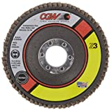 CGW 42301 Premium Z3 Right Angle Grinder Abrasive Flap Disc, Type 27, Zirconia, 4-1/2