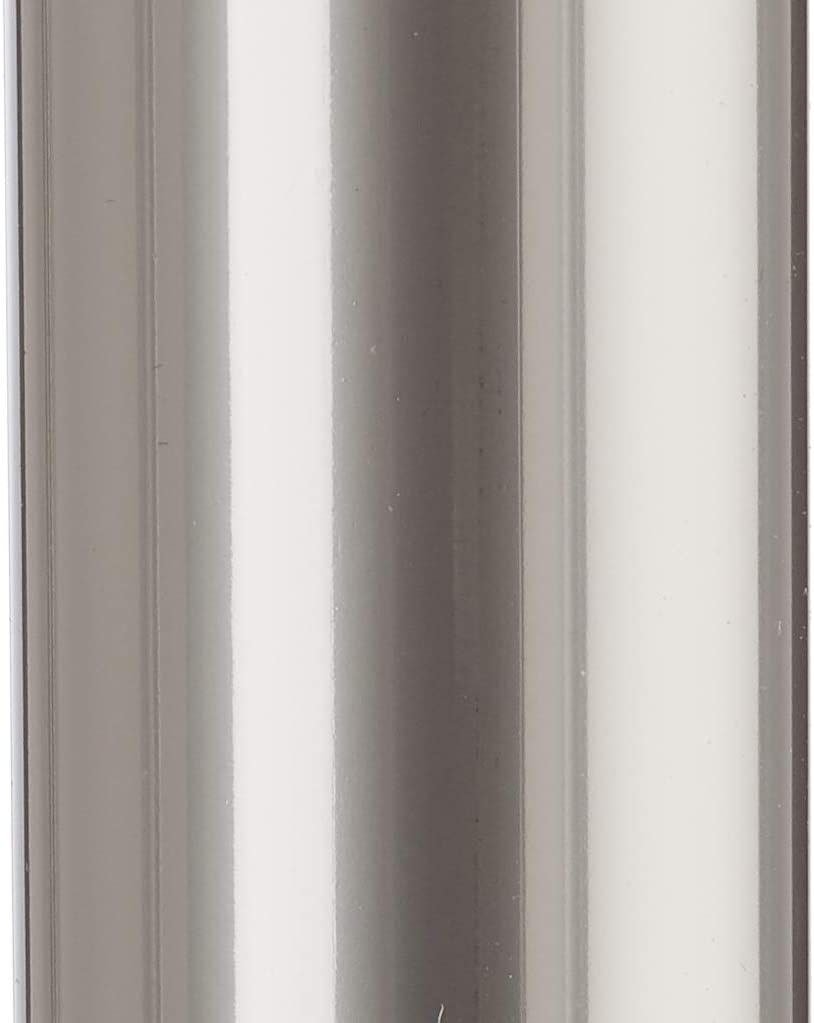 W D: 35 x H: 72 cm Metallo Haku M/öbel Tavolo Aspetto Acciaio Inossidabile