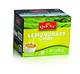 Chai Tea Latte - Lemongrass Chai Tea 10 Latte Tea Pouches By QuikTea