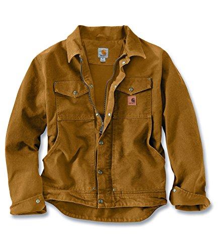 Carhartt Men's Berwick Workwear Jacket Medium Carhartt Brown