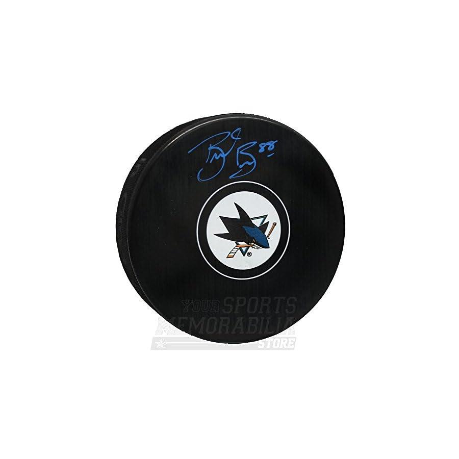 Brent Burns San Jose Sharks Signed Autographed Sharks Hockey Puck B