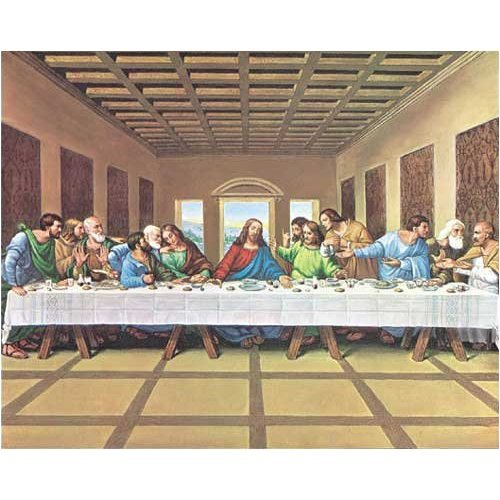 White Mountain Puzzles Last Supper