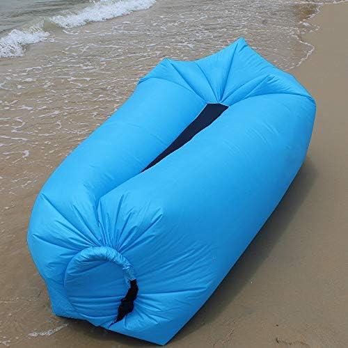 Amazon.com: Hybag - Tumbona hinchable para playa, portátil ...