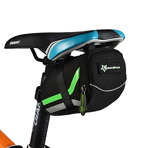 - Ezyoutdoor Bicycle Bag Mountain Road Bike Saddle Bags Anti-scratch Cycling Riding Seat Post Rear Panniers Bicycle Accessories MTB