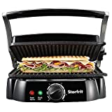 The Rock by Starfrit Panini Grill in Black