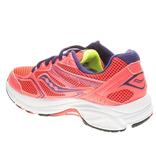Saucony Cohesion 9 W, Women's Low-Top Sneakers Coral/Purple/Citron