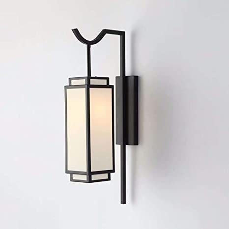 Amazon.com: Aisle - Lámpara de pared para salón, de hierro ...