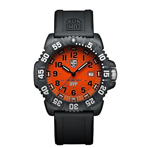 Luminox Men's 3059.SET Scott Cassell Specials Analog Display Analog Quartz Black (Marine Resin Clock)