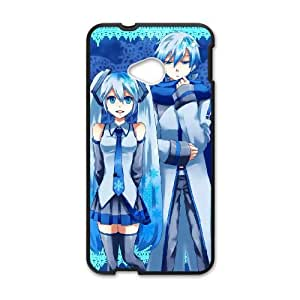 HTC One M7 Phone Case Covers Black Hatsune Miku RXE Cell Phone Case Customized Personalized