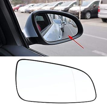 Cristal del Espejo Ala Delaman Lado Derecho de la Puerta del Automóvil del Espejo del Espejo Lateral Para Opel Astra 2004-2016 6428785: Amazon.es: Coche y ...
