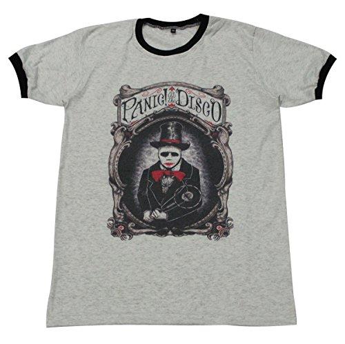 [Panic! at the Disco punk alternative rock music T-Shirt / GV146.4 size L] (Mens Disco Jumpsuit)