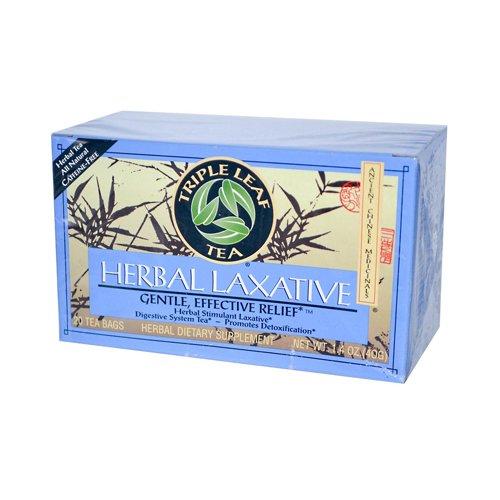 Triple Leaf Tea Herbal Laxative 20 Bag (6 Pack) (The Best Laxative Tea)
