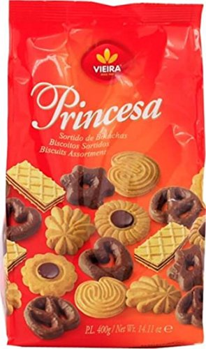 Vieira Princesa Biscuits Cookies Assortment, 400g | 14.11oz from Portugal by Vieira