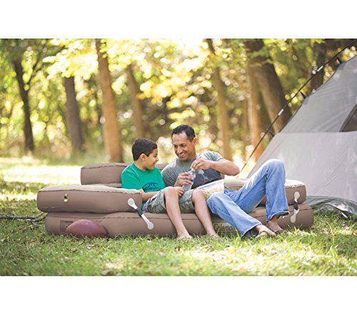 NEW! COLEMAN Premium 5-in-1 Twin/King PVC Quickbed Airbed Mattress & Hide-A-Sofa by Coleman (Image #3)