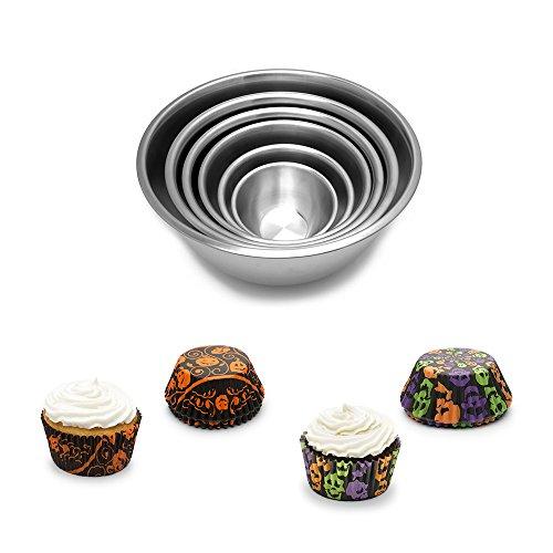 cupcake mixing bowl - 1