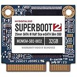 MyDigitalSSD Super Boot 2 (SB2) 25mm SATA III (6G) Half-Size mSATA Mini SSD (256GB (240GB))
