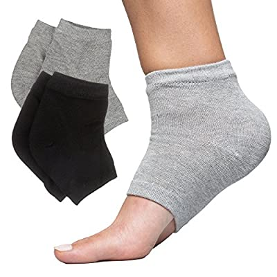 ZenToes Moisturizing Heel Socks