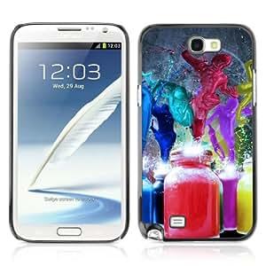 YOYOSHOP [Abstract Paint Splash art] Samsung Galaxy Note 2 Case