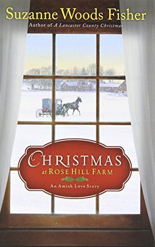 book cover of Christmas at Rose Hill Farm