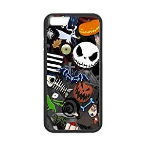 the Case Shop- The Nightmare Before Christmas TPU Rubber Hard Back Case Silicone Cover Skin for iPhone 6 4.7 Inch Case , i6xq-865