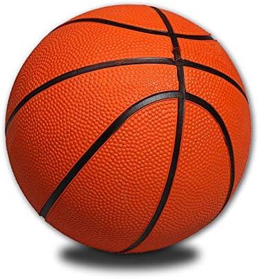 1 Rubber Basketball Kindergarten Small Basketball Game Ball Basketball JVSISM Childrens Basketball No