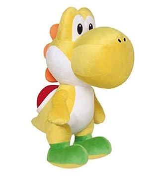 Super Mario Brothers 22 cm Figura de peluche Yoshi Amarillo de peluche