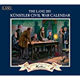 Lang January to December, 13.375 x 24 Inches, Perfect Timing Civil War 2015 Wall Calendar by Mort Kunstler (1001790)