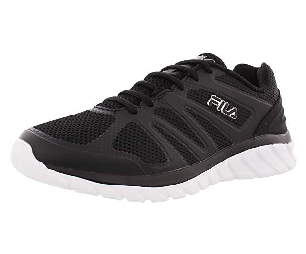 Fila Mens Memory Cryptonic 3 Low Top Lace Up Running Sneaker Grey Size 11.5