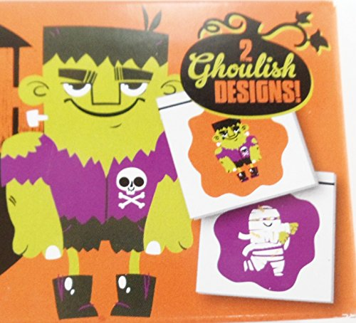 Halloween Sandwich/snack Bags Frankenstein and Mummies 50 Bags (2 Pack) (Halloween Kid Snacks)