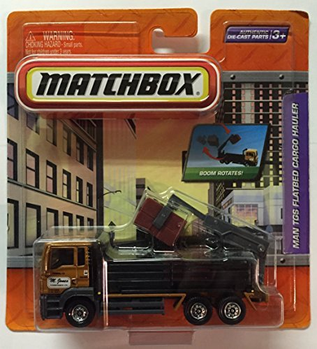 Matchbox MAN TGS Flatbed Cargo Hauler (Color: Brown) M. Jones Conveyance Ltd.