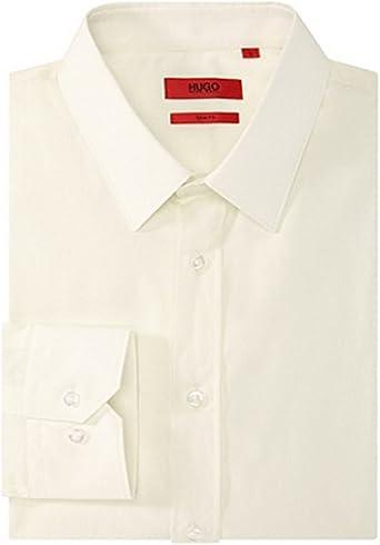Hugo Boss - Camisa casual - para hombre Beige Claro small: Amazon.es: Ropa y accesorios