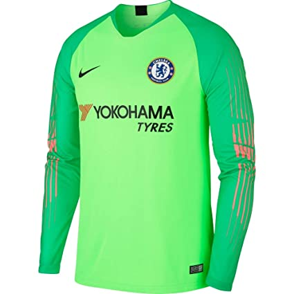 271dd5ced1b Amazon.com : Nike 2018-2019 Chelsea Home Goalkeeper Football Soccer ...
